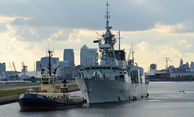 HMCS Winnipeg (5) @ Royal Docks 19-09-15