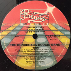 THE GUNCHBACK BOOGIE BAND:FUNN(LABEL SIDE-A)