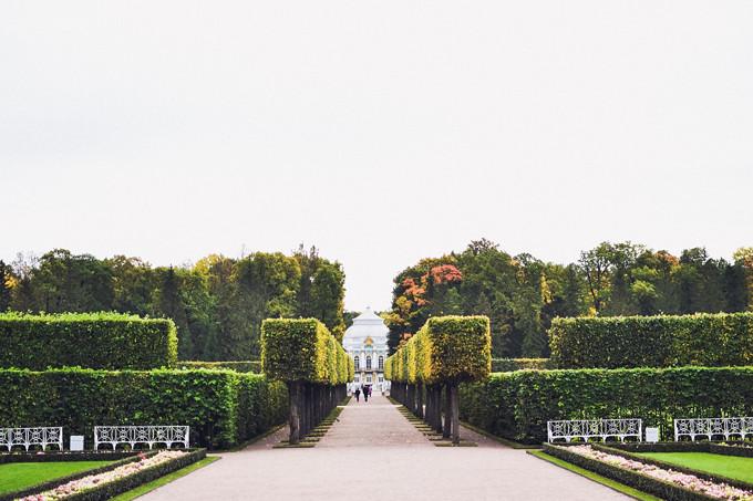 catherine palace garden