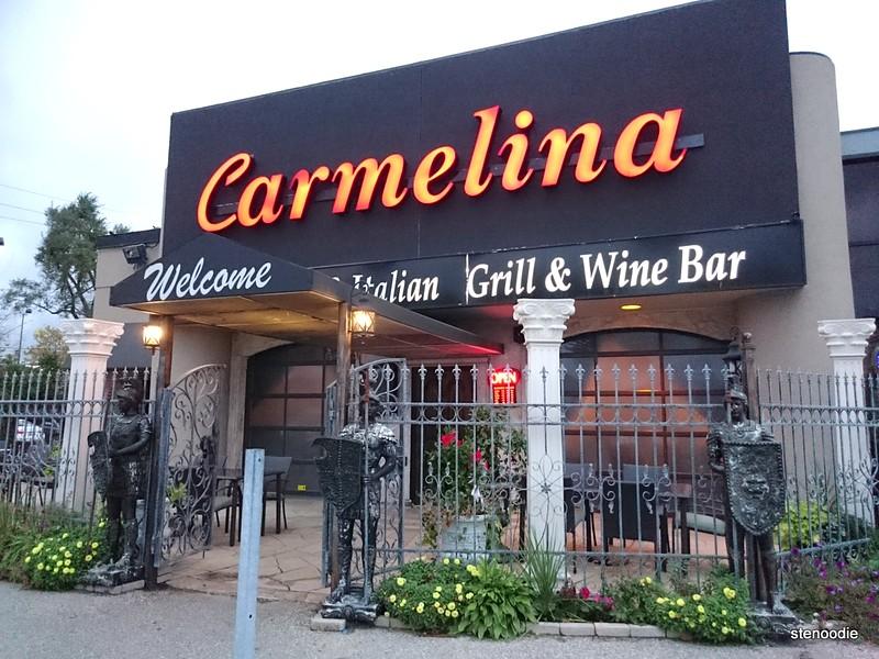 Carmelina Restaurant storefront