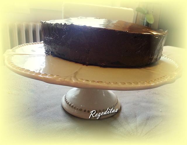 CHOCOLATE SPONGE CAKE CON SALVADO DE AVENA