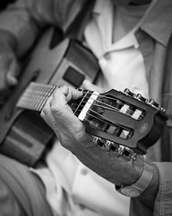Magic Hands. There is an incredible amount of talent to be found among street performers in all major cities around the world. This old guitar player in Alexandria, VA told me he was wrapping up his lifelong love for music by sharing his talent on an othe