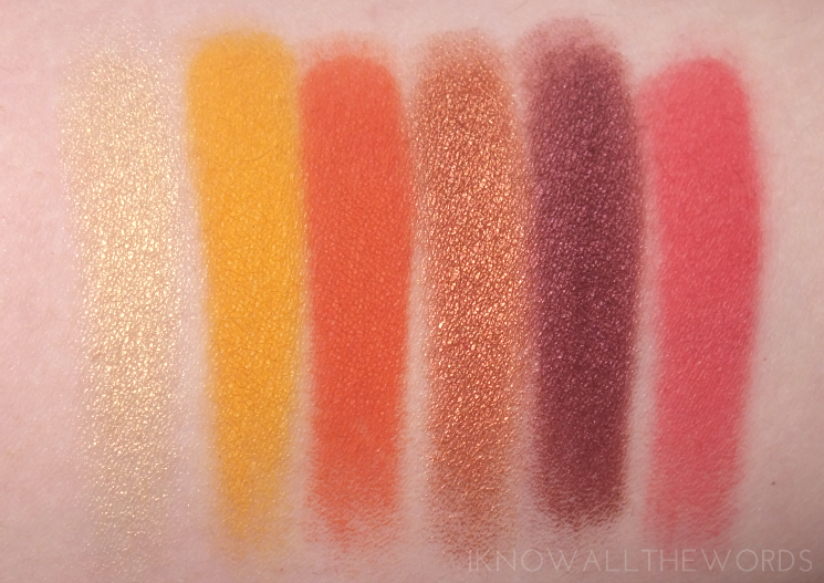 Kat Von D Mi Vida Loca Remix Eyeshadow Palette swatches review eye look (8)