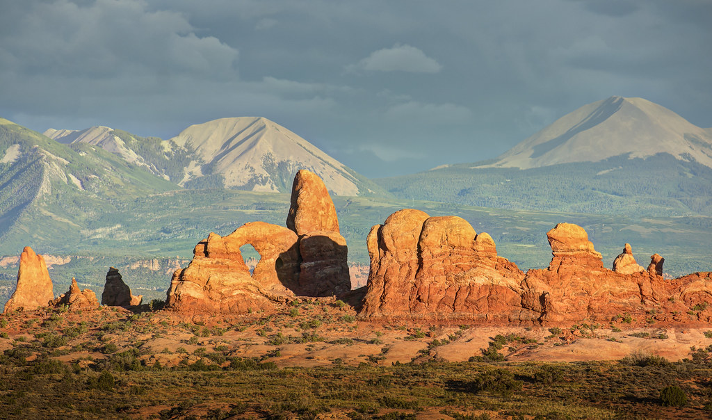 Utah In Mixed Light