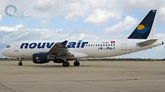 Nouvelair A320 operating for Buraq Air as UZ154