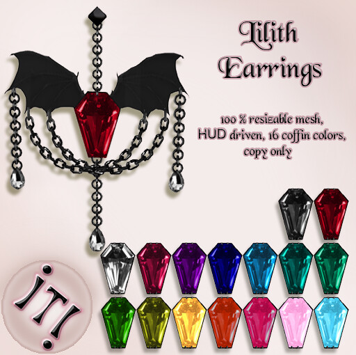 !IT! - Lilith Earrings Image
