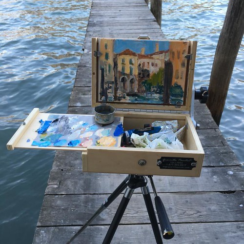 On a Dock, Venice