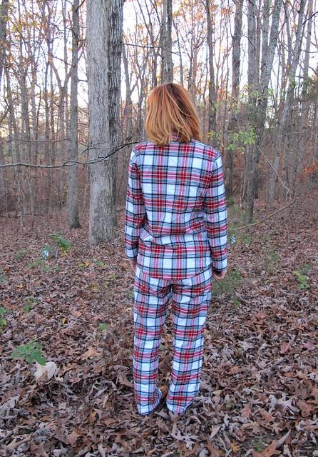 Flannel Carolyn PJs - back