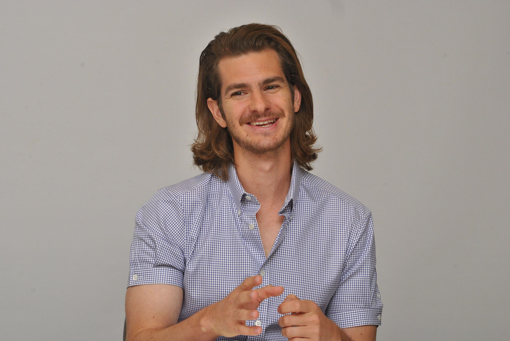 Эндрю Гарфилд — Пресс-конференция «99 домов» 2015 – 33