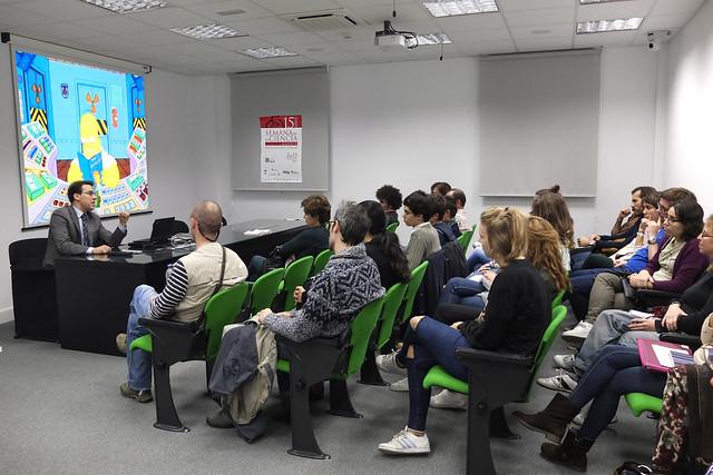 2015. Los Simpson y la energía nuclear.  Sociedad Nuclear Española. Semana de la Ciencia