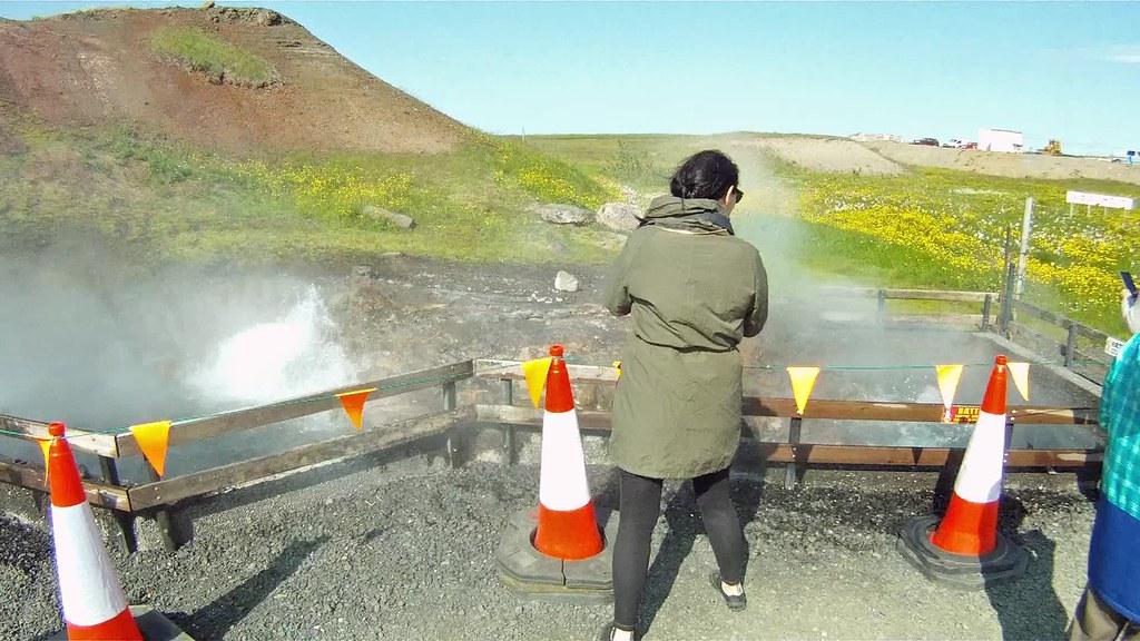 Deildartunguhver, Island