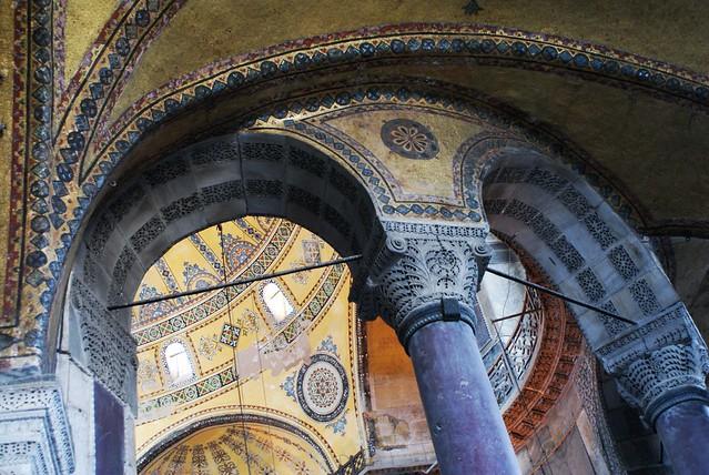 Sainte Sophie, une des splendeurs d'Istanbul.