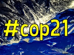 Hashtag #COP21  (Image: Wheeler Peak Photo @ Paul Jonusaitis)