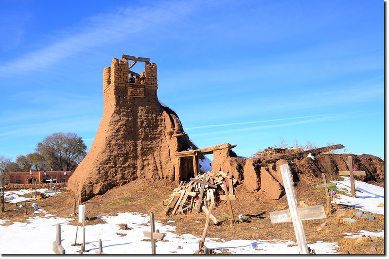 Ruins of the St. Jerome Church, Taos Pueblo 1