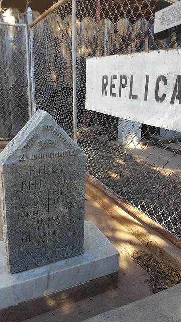 Billy the Kid Gravesite Replica