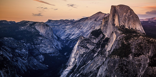 Sunset on Half Dome & the Valley