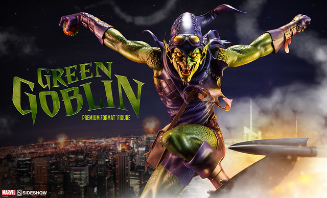 【完整官圖、販售資訊更新】Sideshow Collectibles【綠惡魔】Green Goblin 1/4 比例 全身雕像