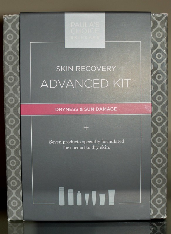skin recovery advanced kit for dry skin