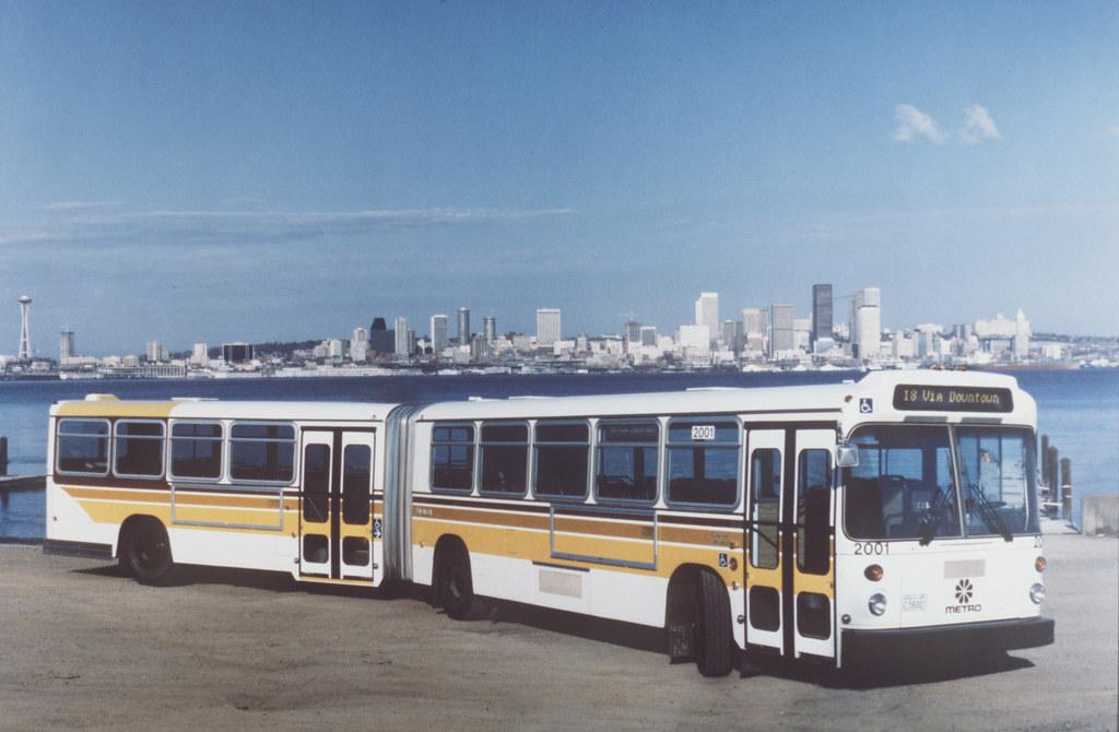 Throwback Thursday: Metro bus 2001, route 18 via downtown, no date