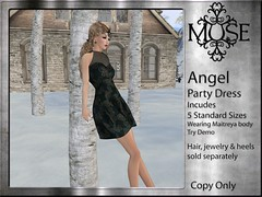 [MUSE] Angel Party Dress - V11
