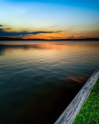 lake lakeside water shoreline shore coastline coast lakeconroe conroe houston texas sunset sunsets