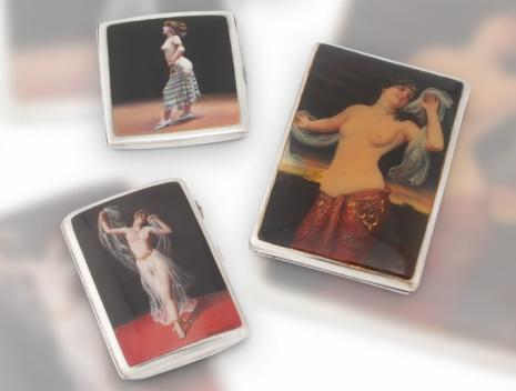 最頹廢的藝術品 20世紀初期煙盒,上流人士手中的情色秘密5