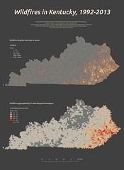 Wildfire in Kentucky, 1992-2013