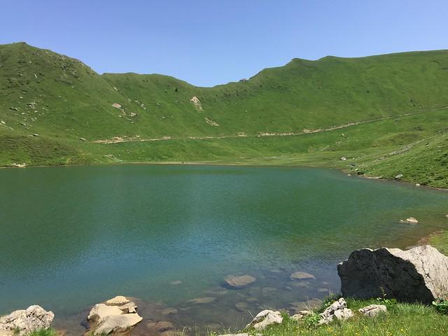 GR5 Lac de Chésery