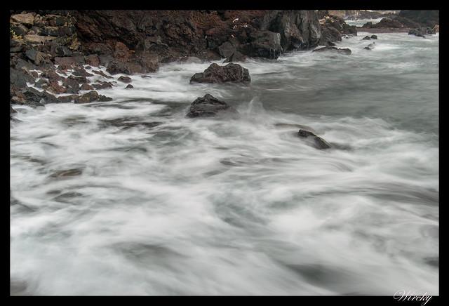 La ola. Foto de 1 segundo