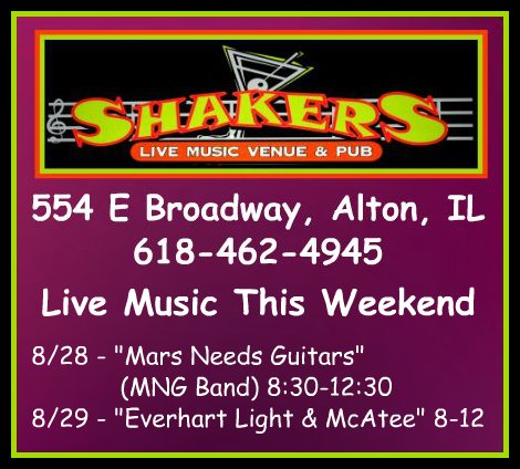 Shakers 8-28, 8-29-15