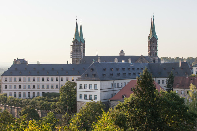 Bamberg Cathedral. Bamberg. Upper Franconia, Bavaria, Germany