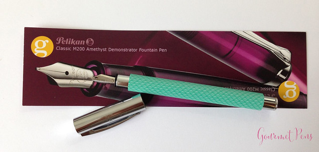 Review Faber-Castell Ambition OpArt Aqua Fountain Pen @goldspotpens @FaberCastell (15)