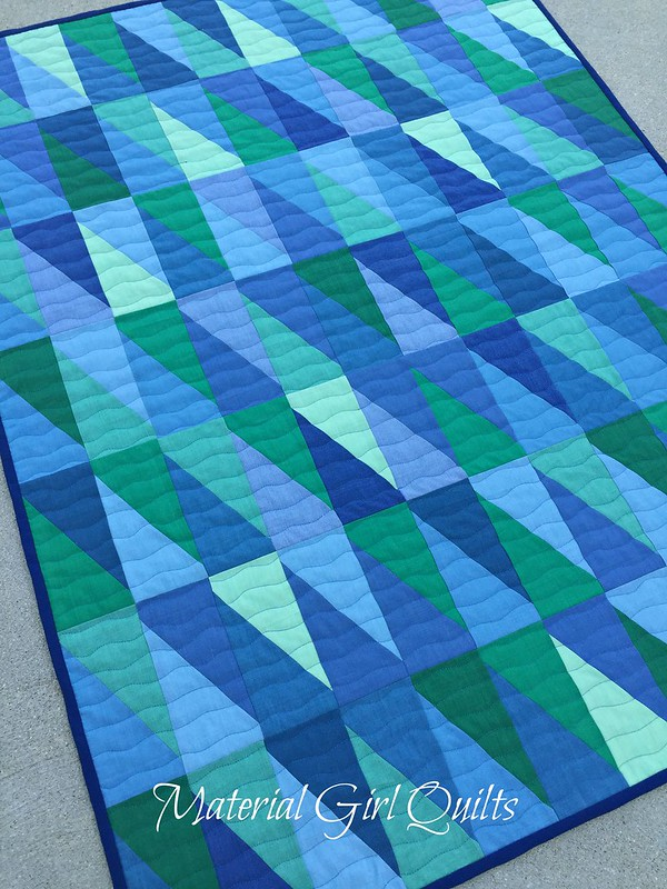 Oakshott baby blues quilting