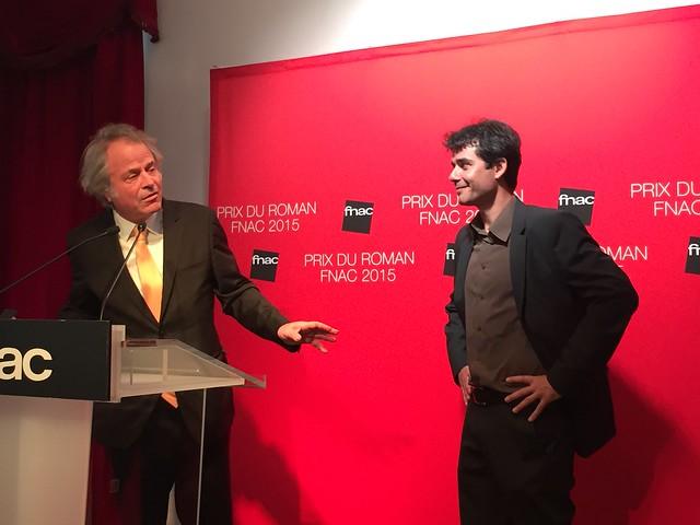 Prix du roman Fnac 2015 remis à Laurent Binet