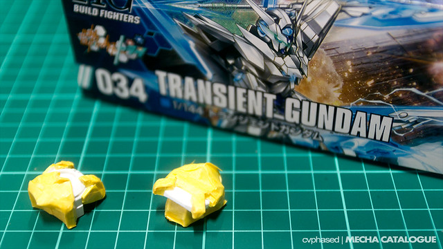 HGBF Transient Gundam - Work in Progress #1