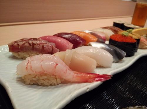 16 Option Sushi