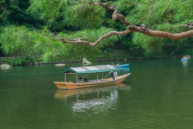 boat on Hozu-gawa