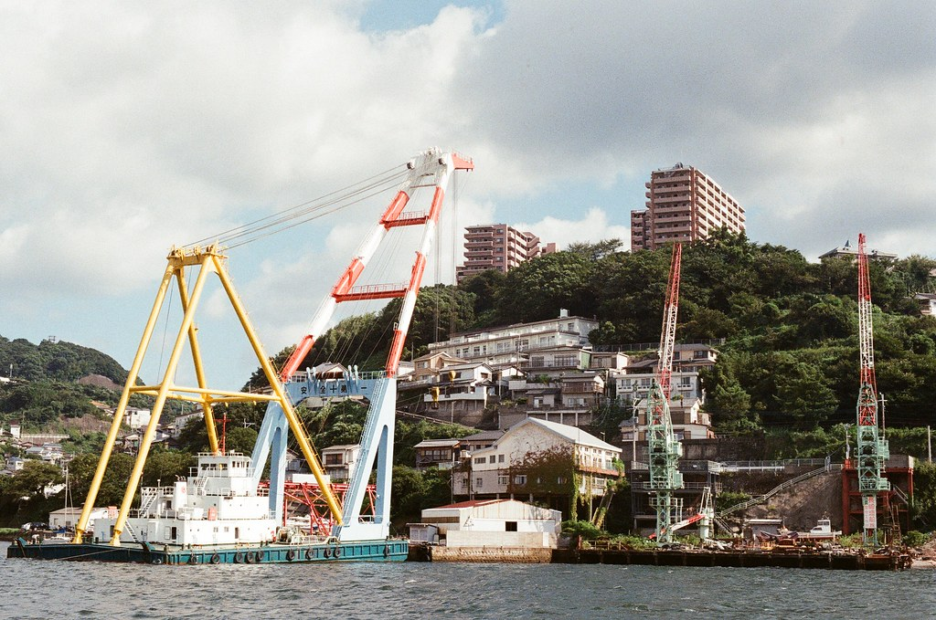長崎港 Nagasaki 2015/09/07 返回長崎港  Nikon FM2 / 50mm Kodak UltraMax ISO400 Photo by Toomore