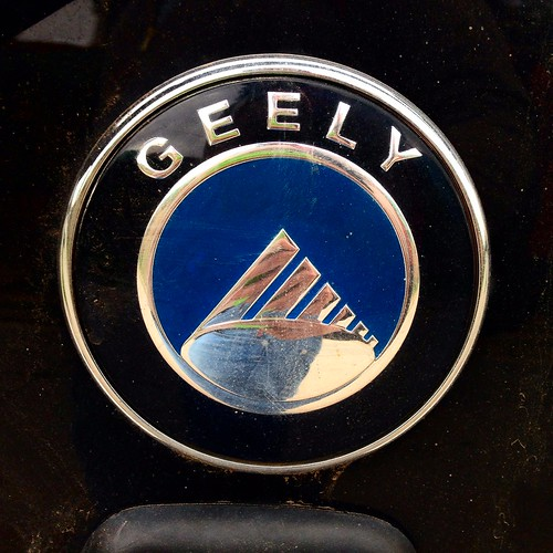 Geely badges - Chile