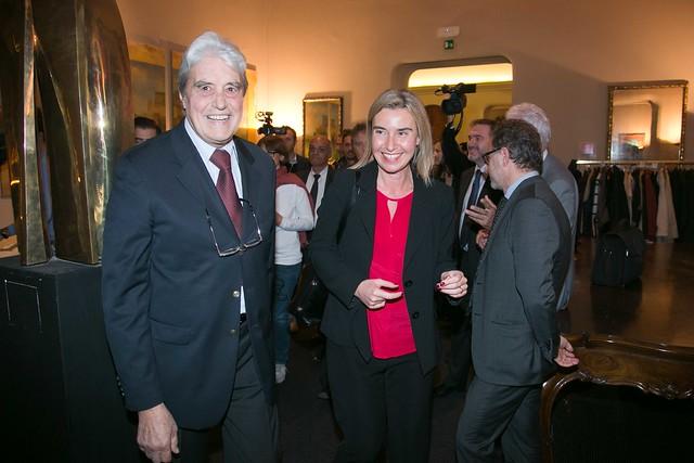 Federica Mogherini incontra lo IAI