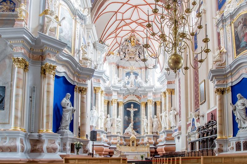 Bazylika archikatedralna Świętych Apostołów Piotra i Pawła w Kownie - Kaunas, Lithuania
