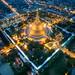 The Greatest Pagoda in Thailand by golfztudio