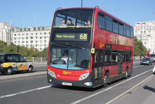 London Central E101 LX09EZV