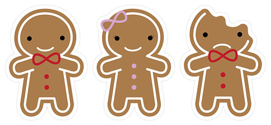 Cookie Cute Stickers