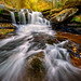Dunloup Creek Falls In Autumn by SLOWMAN Sends...