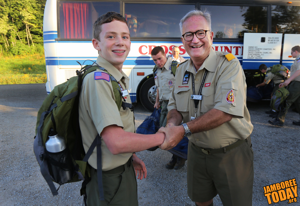 First Scout at Jamboree Heads Home: Expectations Exceeded!