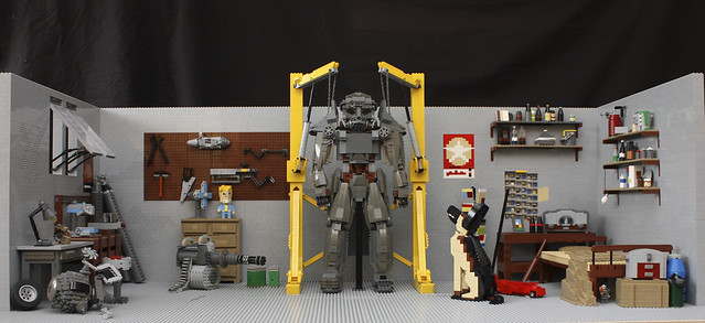 Epic Fallout 4 Diorama Bricknerd Your Place For All
