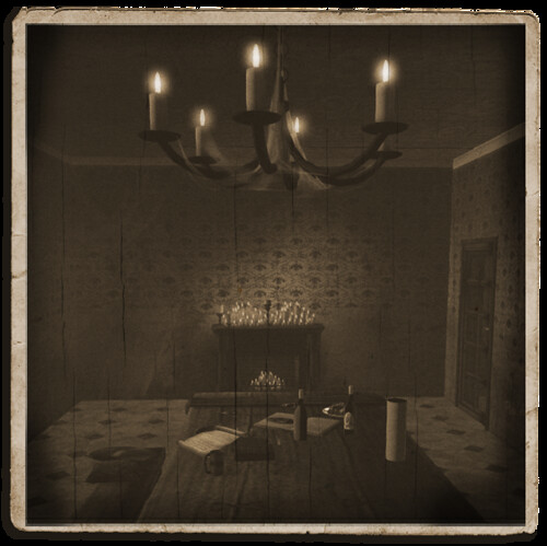 Krampus - The House - Dining Room