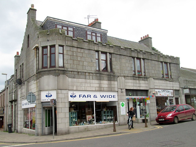 Art Deco Shop Front, Stonehaven