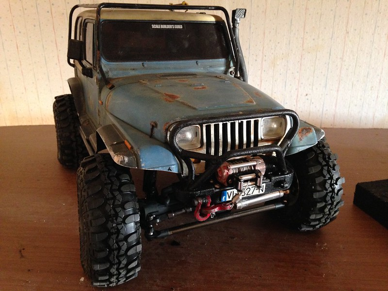 Jeep Wrangler YJ RcModelex 23023149961_f0fcb3e8e8_c